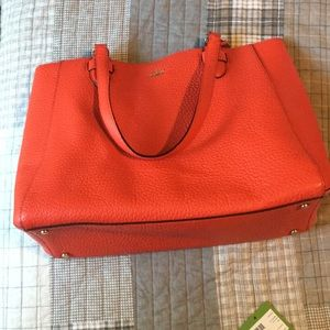 Kate Spade Picnic Red Carter St Tyler Tote